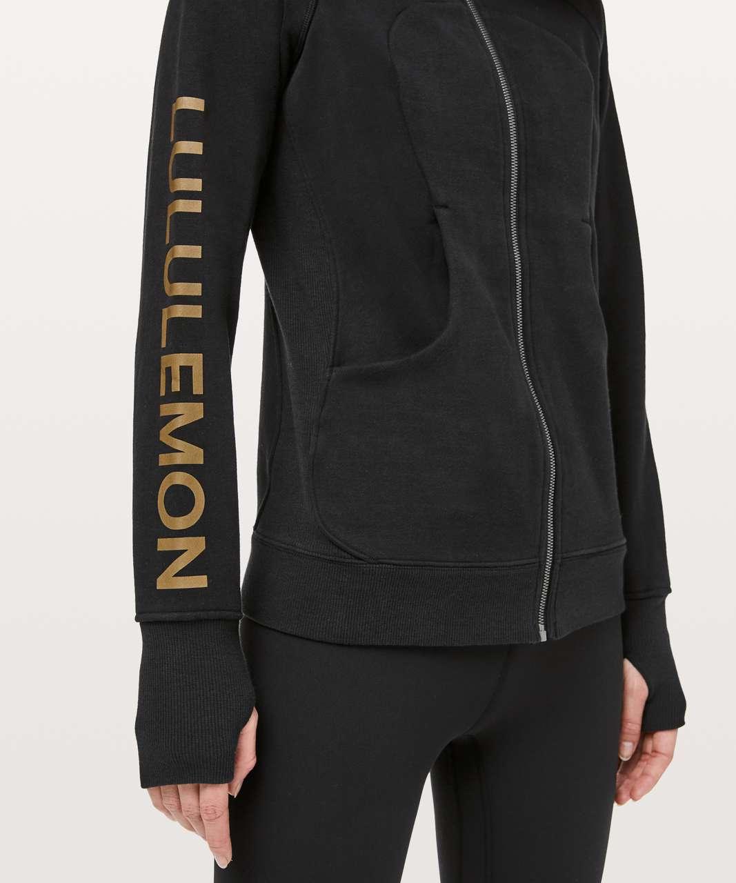 Lululemon Scuba Hoodie Classic Cotton Fleece *Lunar New Year - Black