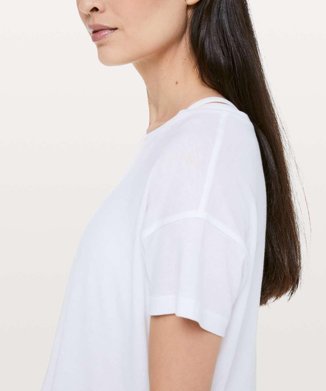 Lululemon Cates Tee *Light - White