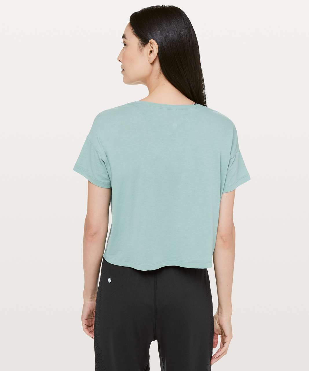 Lululemon Cates Tee *Light - Rip Tide