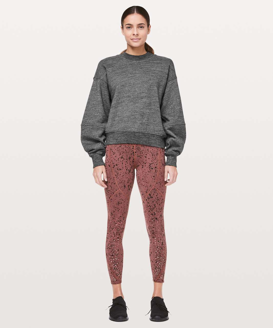 Lululemon To The Beat Sweatshirt *lululemon X SoulCycle - Heathered Core Dark Grey