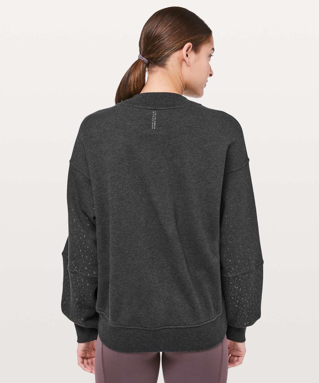 Lululemon To The Beat Sweatshirt *lululemon X SoulCycle - Heathered Black