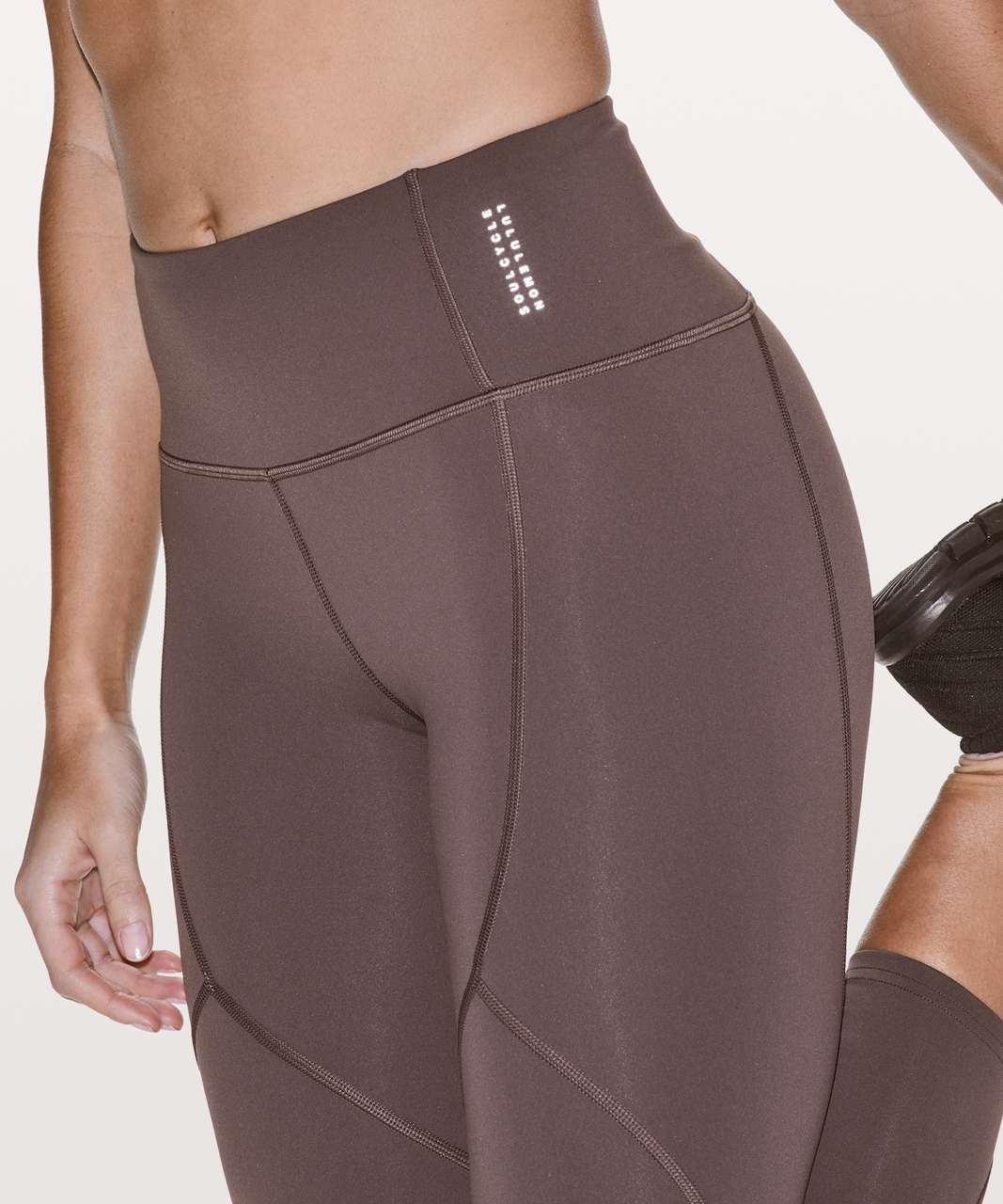 "Lululemon To The Beat Tight 24"" *lululemon X SoulCycle - Purple Taupe"