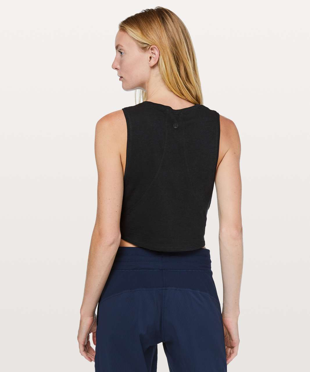 Lululemon Muscle Love Crop Tank *Light - Black