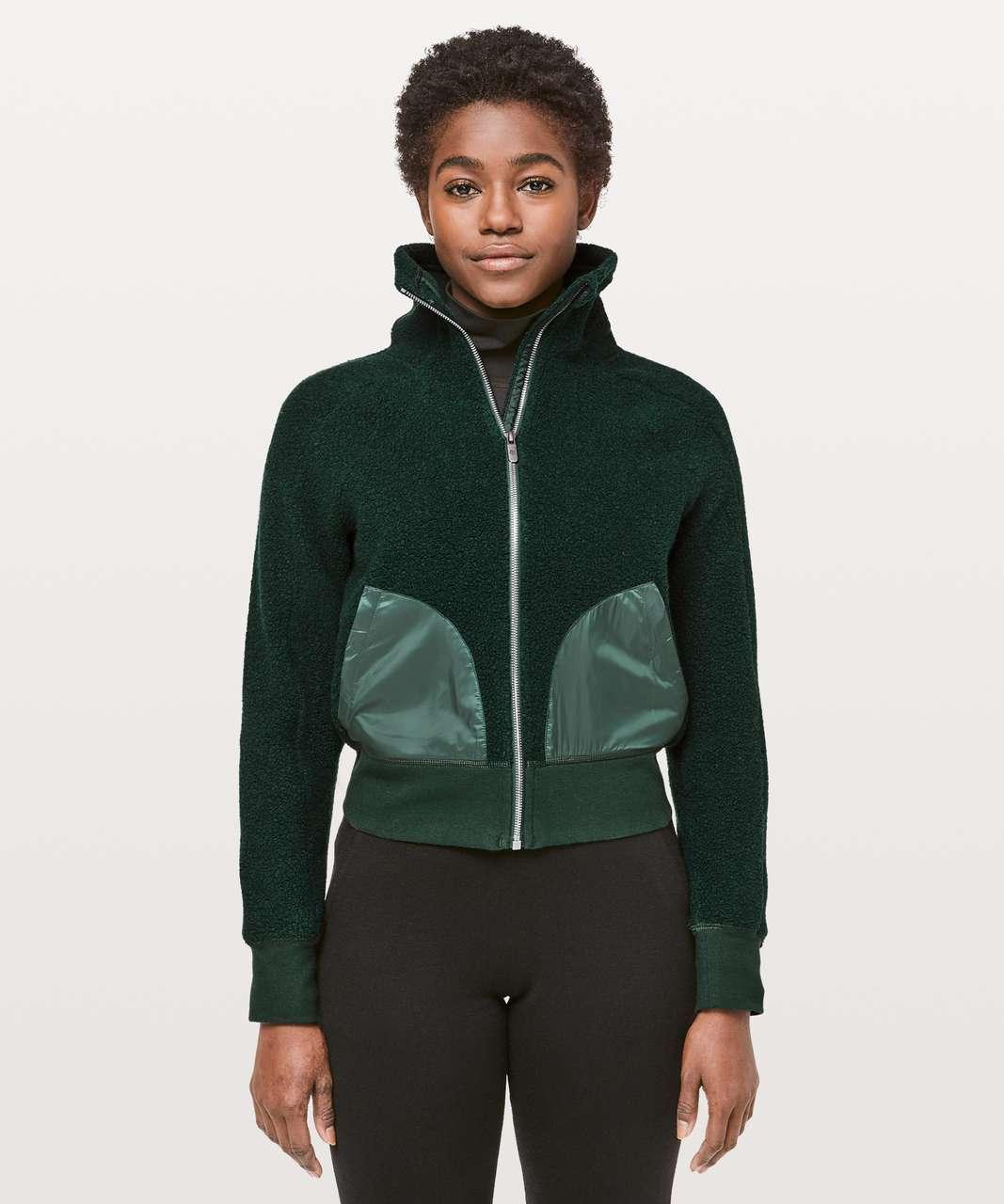 Lululemon So Sherpa Jacket - Malachite