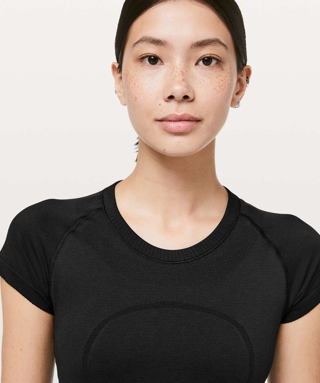 Lululemon Swiftly Tech Short Sleeve Crew *Lunar New Year - Black / Black