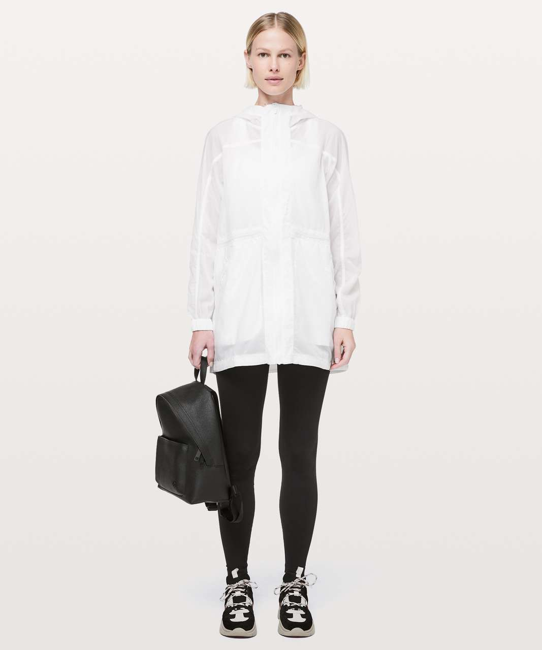 Lululemon In The Clear Jacket - White