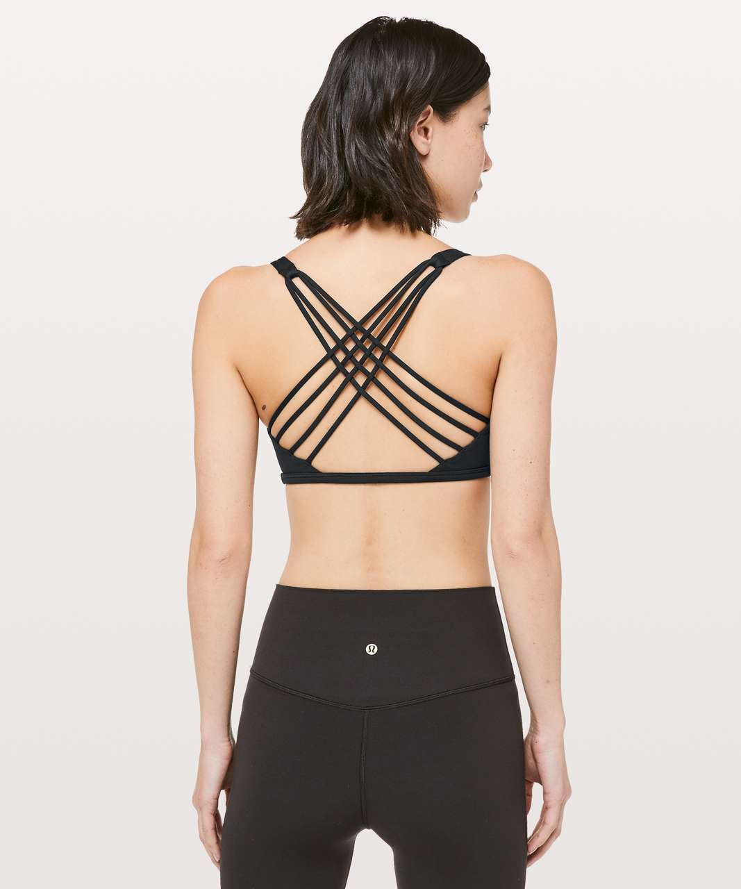 Lululemon Free To Be Bra (Wild) *Lunar New Year - Black