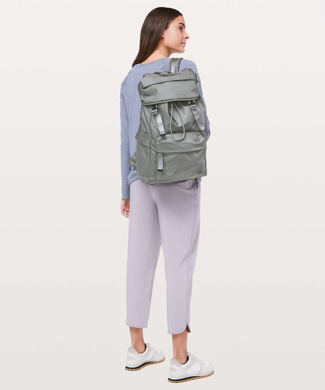 Lululemon On My Level Rucksack *18L - Grey Sage