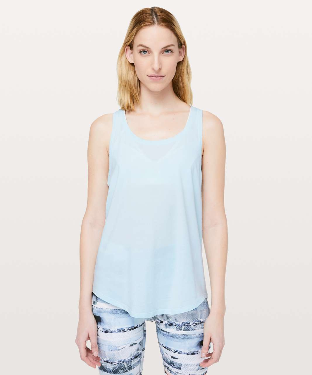 Lululemon Love Tank *Pleated - Sheer Blue