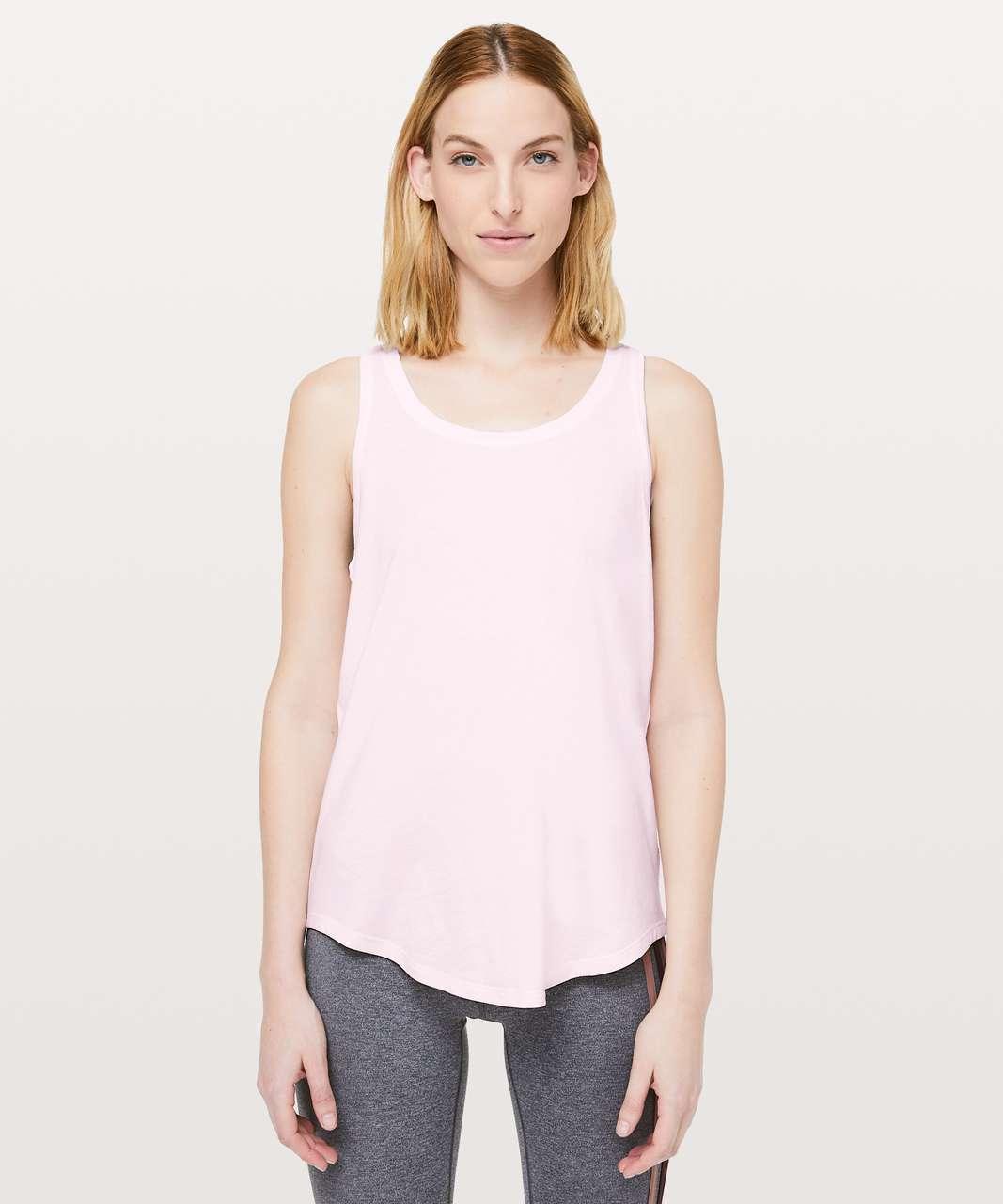 Lululemon Love Tank *Pleated - Pink Glow