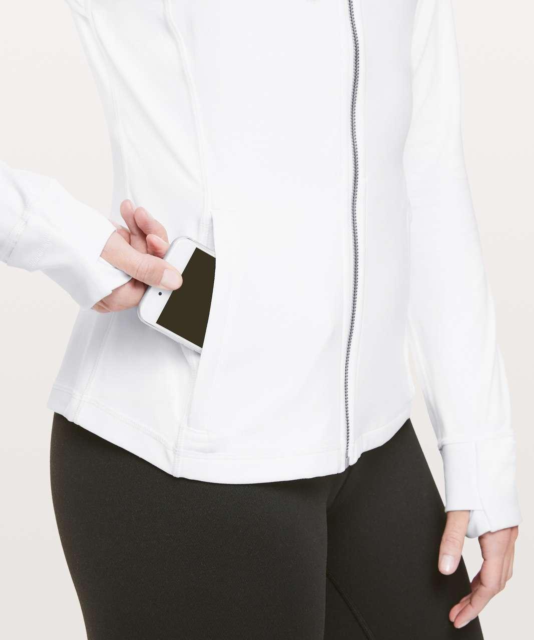 Lululemon Hooded Define Jacket *Nulu - White (First Release)