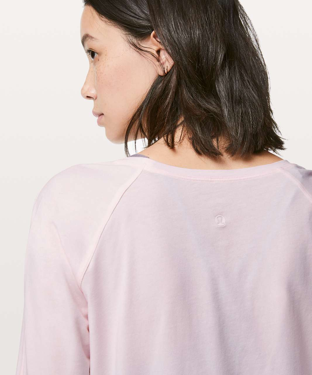Lululemon Emerald Long Sleeve - Pink Glow (First Release)