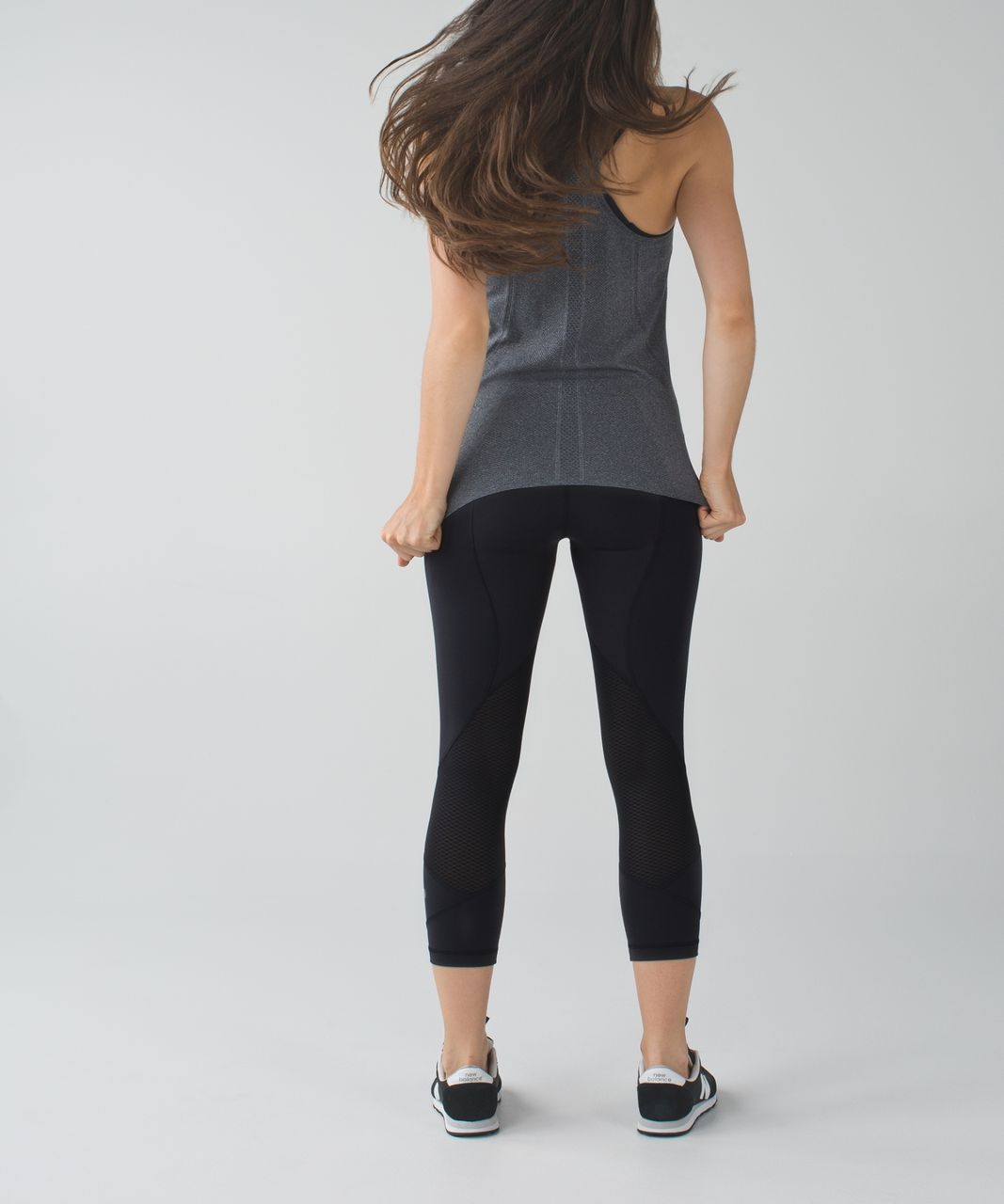 "Lululemon Pace Rival Crop *22"" - Black"