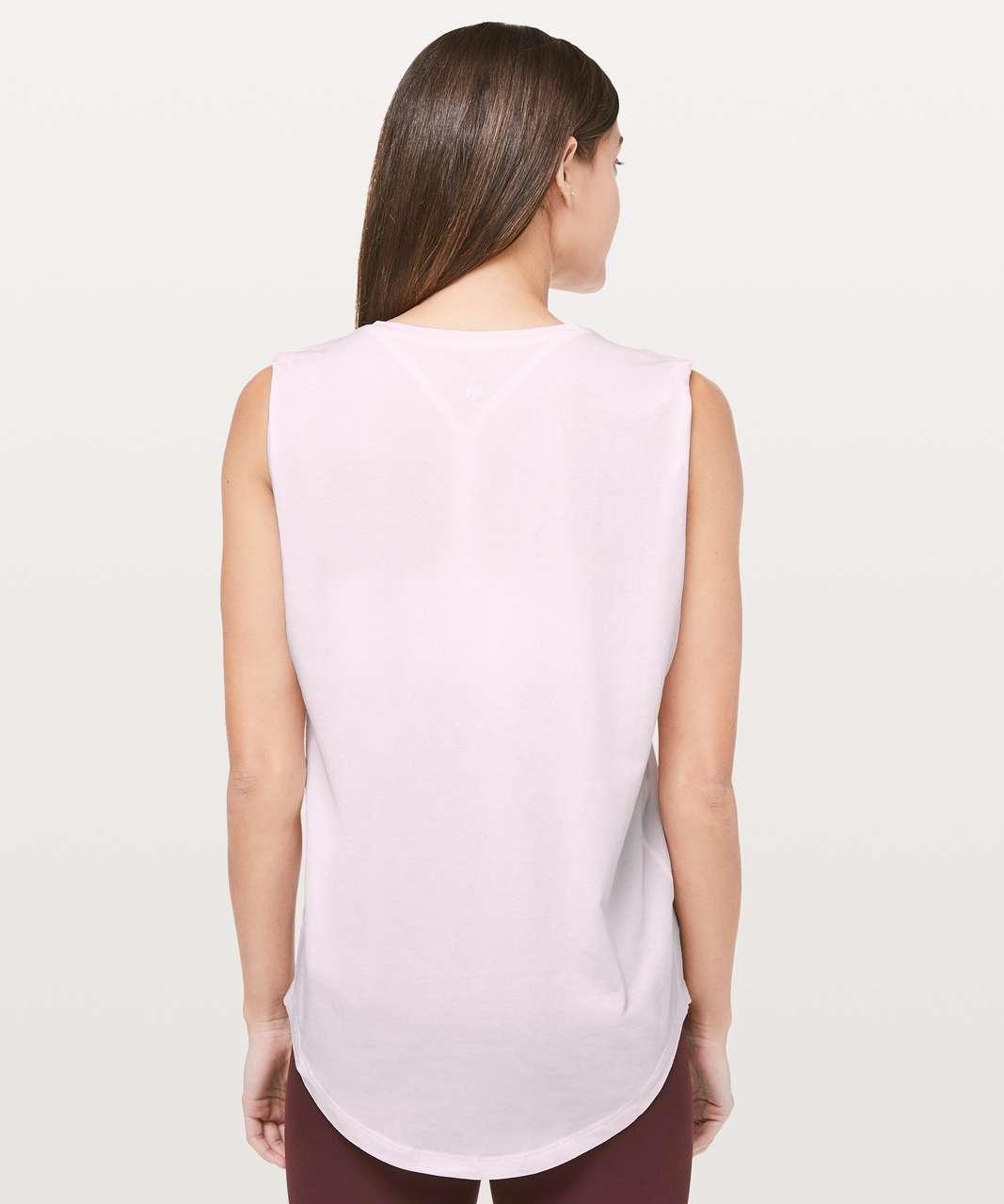 Lululemon Brunswick Muscle Tank - Pink Glow