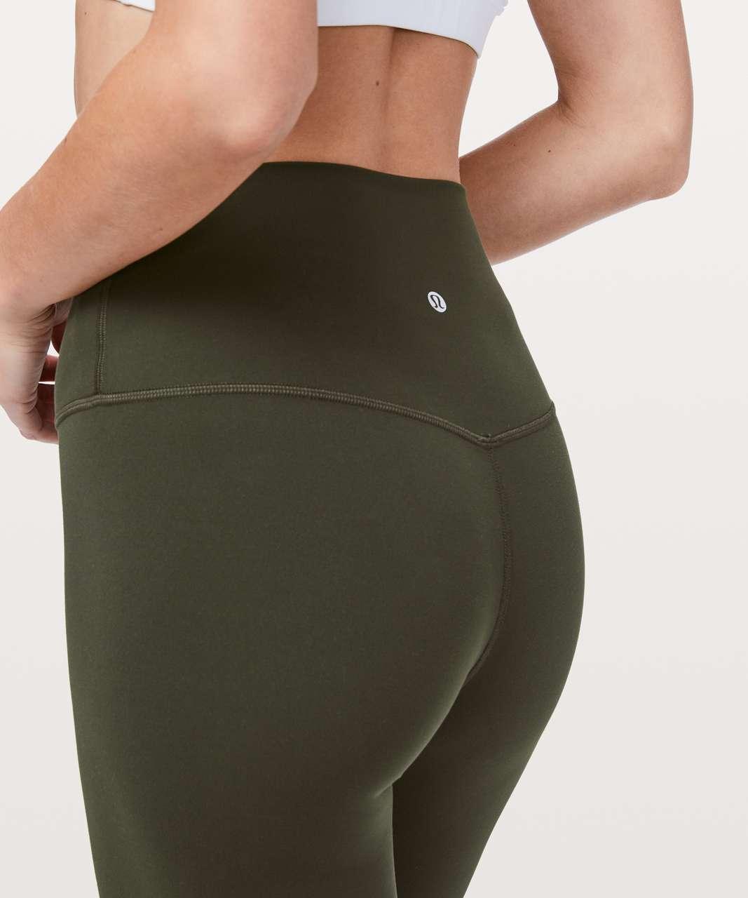 """Lululemon Align Pant *Full Length 28"""" - Dark Olive"""