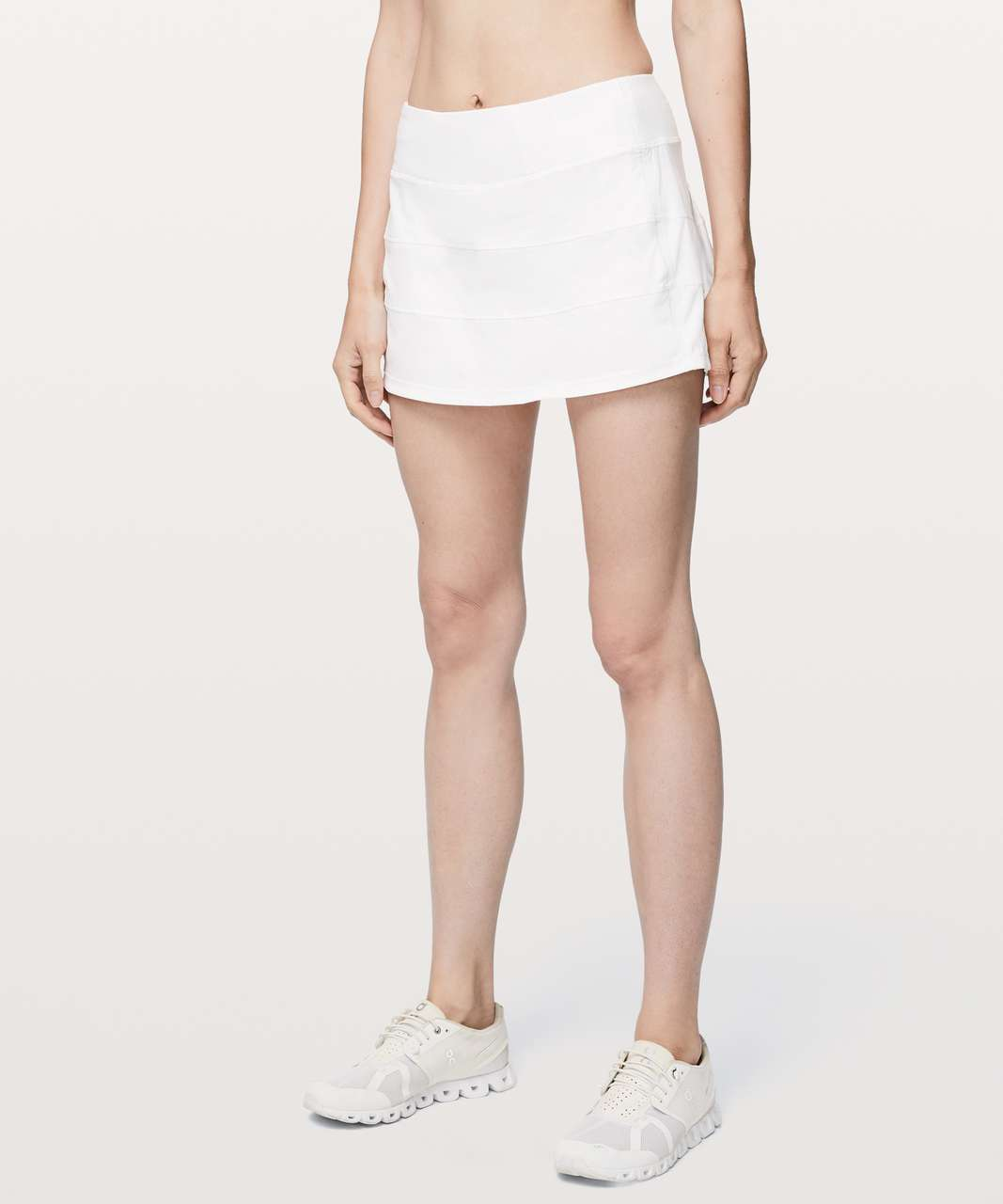 "Lululemon Pace Rival Skirt (Regular) *4-way Stretch 13"" - White"
