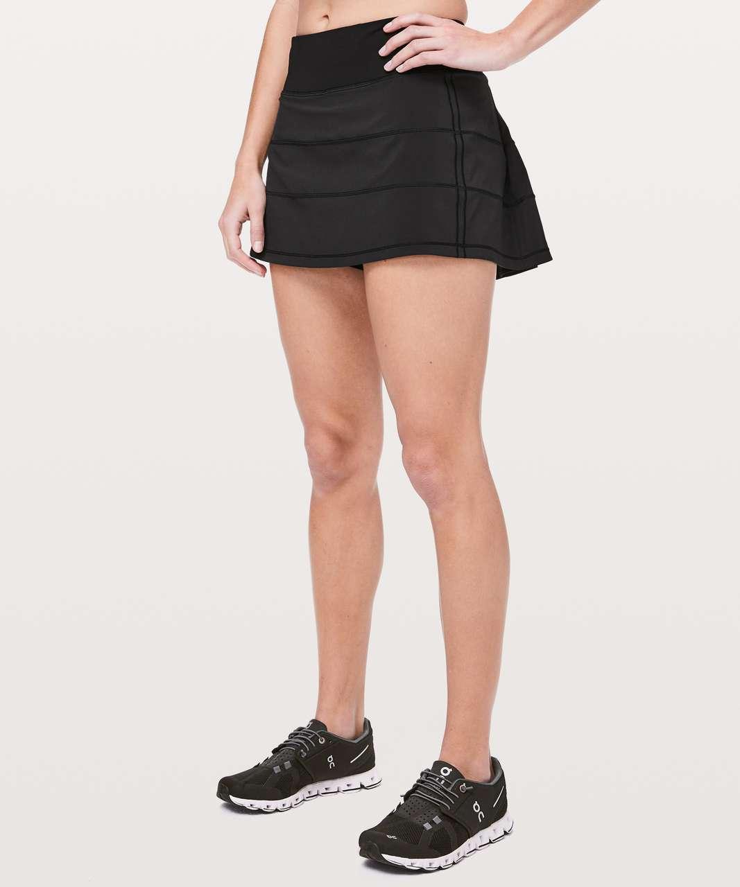 "Lululemon Pace Rival Skirt (Regular) *4-way Stretch 13"" - Black"