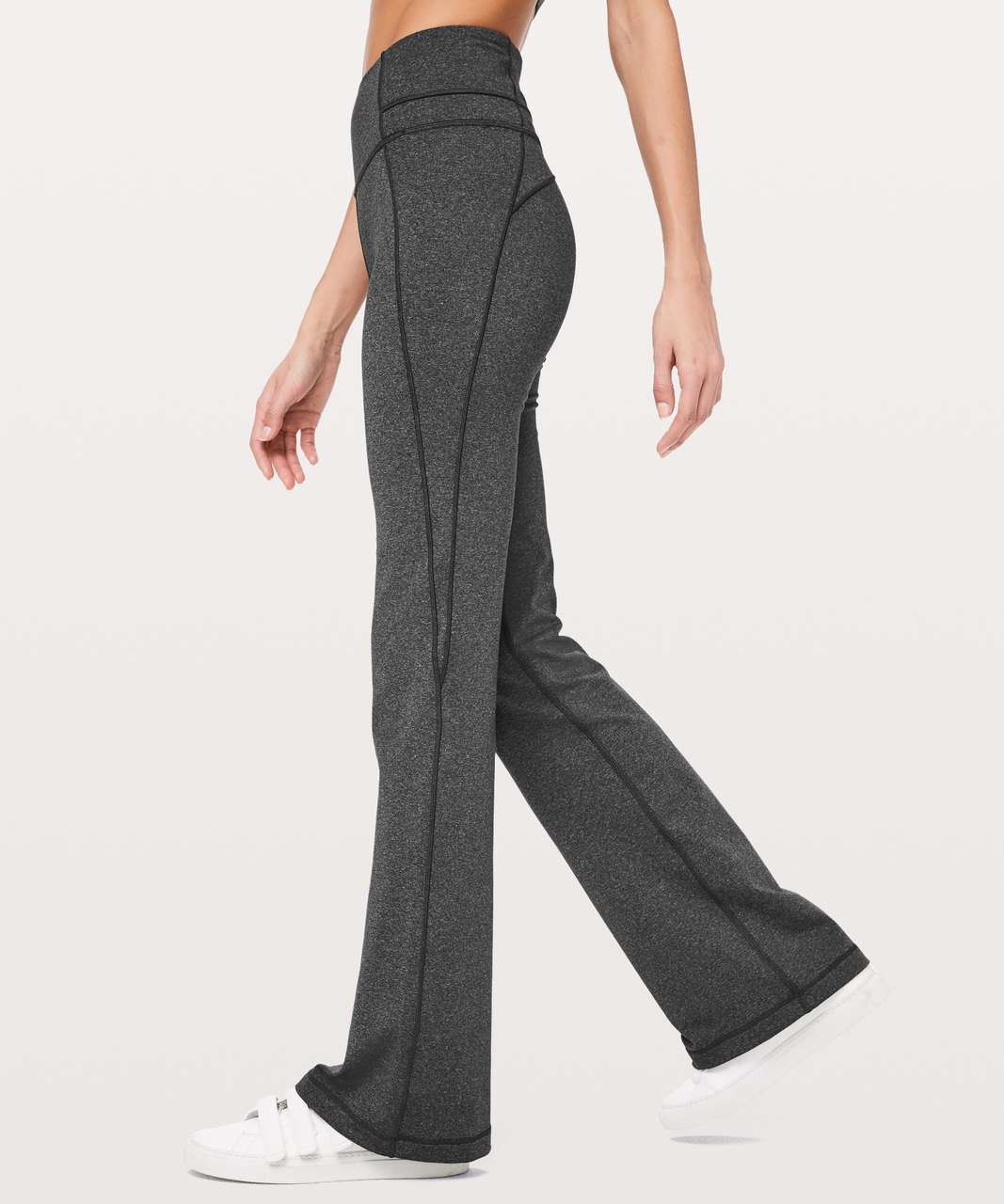 "Lululemon Groove Pant Flare *Full-On Luxtreme 32"" - Heathered Black"