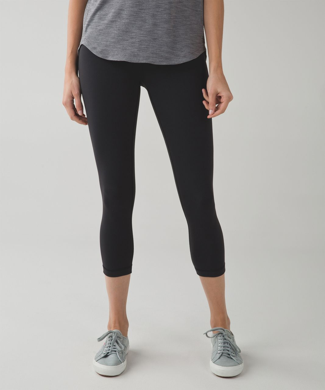 Lululemon Wunder Under Crop III (Second Release) - Black