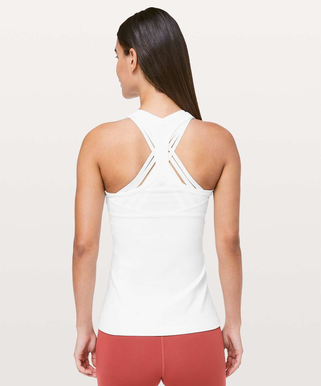 Lululemon Cool Racerback II - White