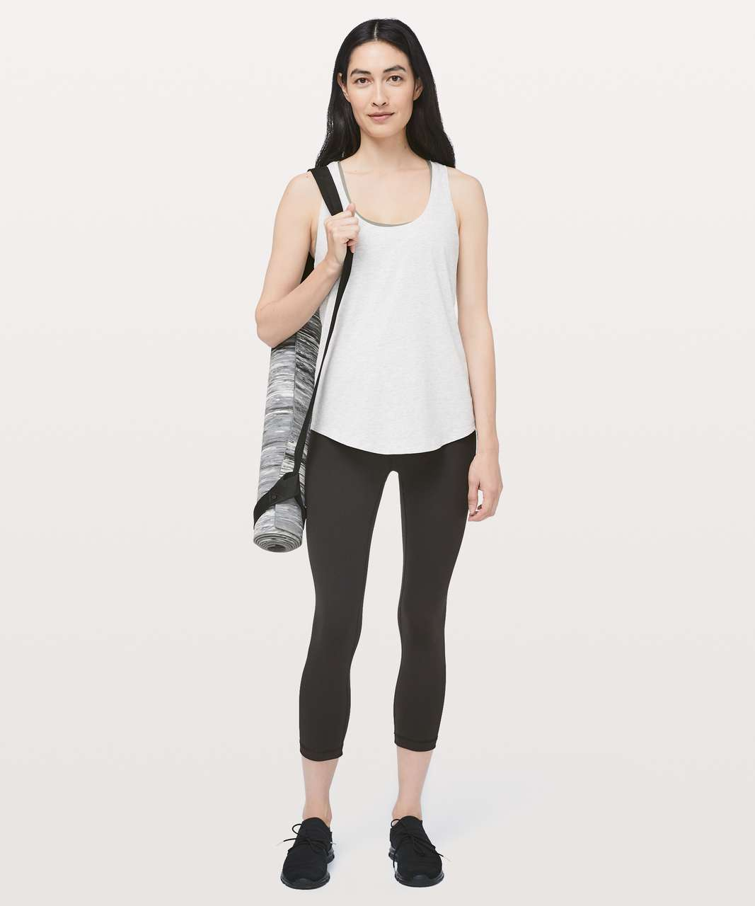 "Lululemon Wunder Under Crop III Full-On Luxtreme 21"" - Black"