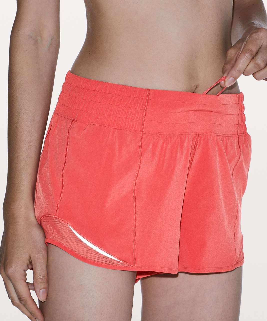 "Lululemon Hotty Hot Short *High-Rise 2.5"" - Poppy Coral"
