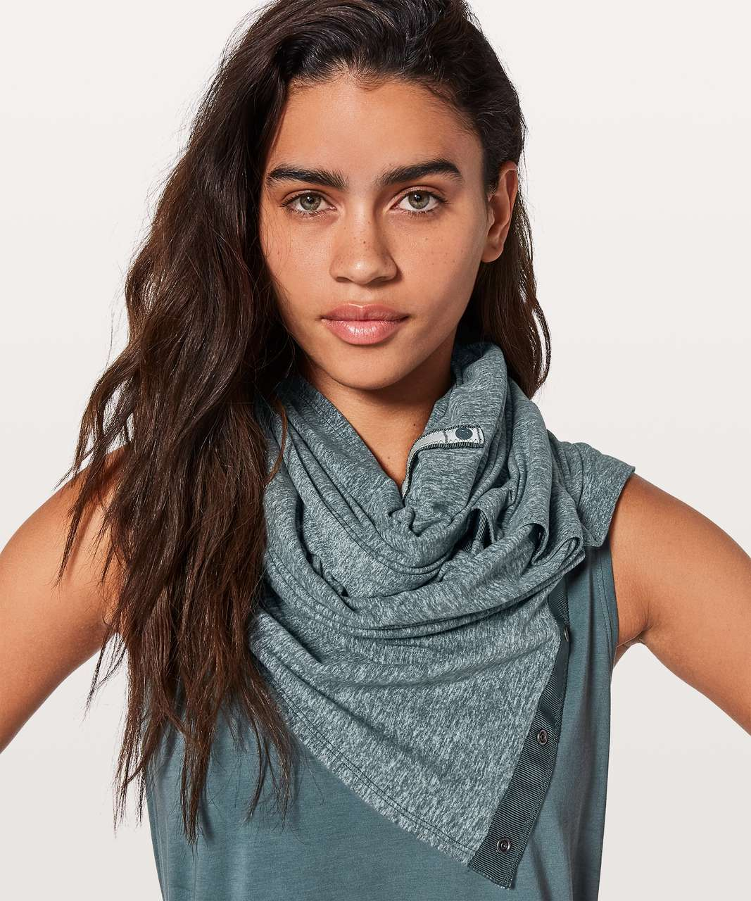 Lululemon Vinyasa Scarf *Rulu - Heathered Gravity