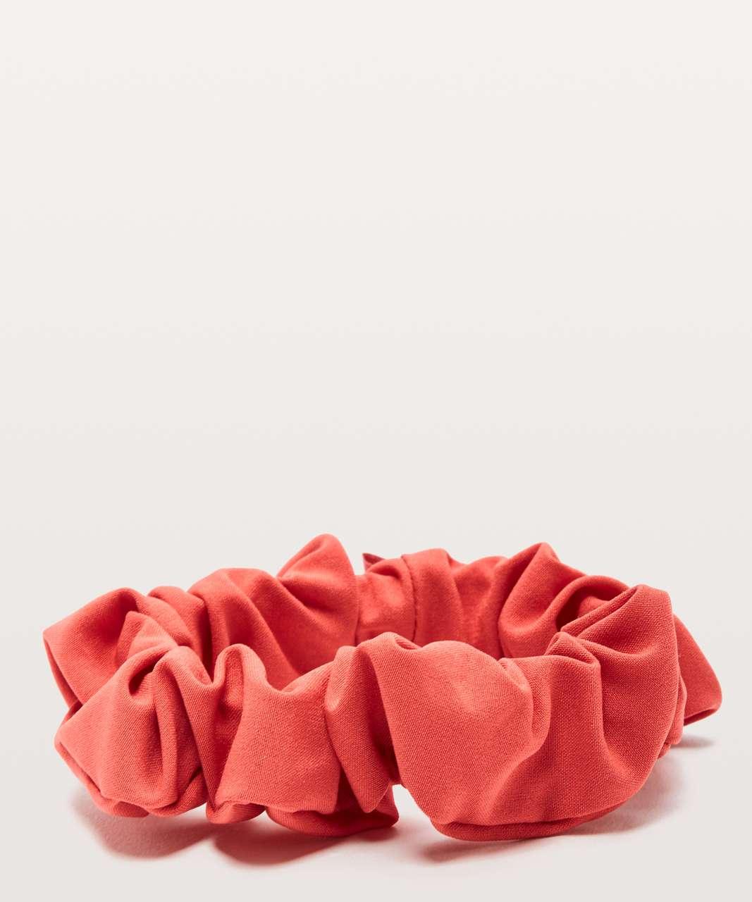Lululemon Uplifting Scrunchie - Poppy Coral