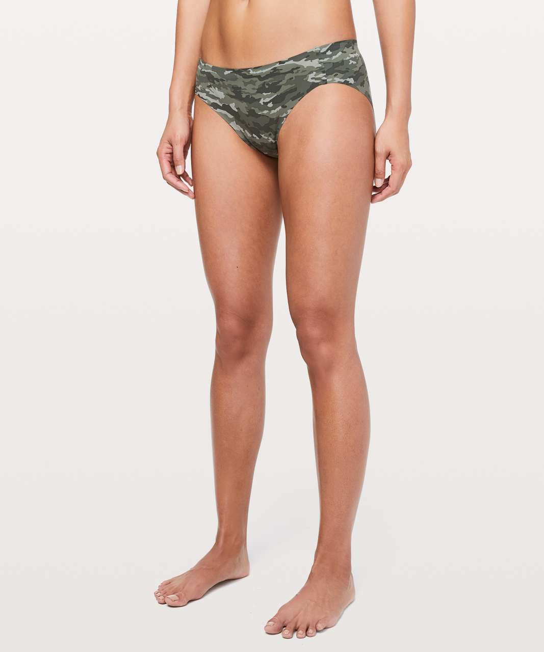 Lululemon Namastay Put Hipster - Evergreen Camo Green Multi