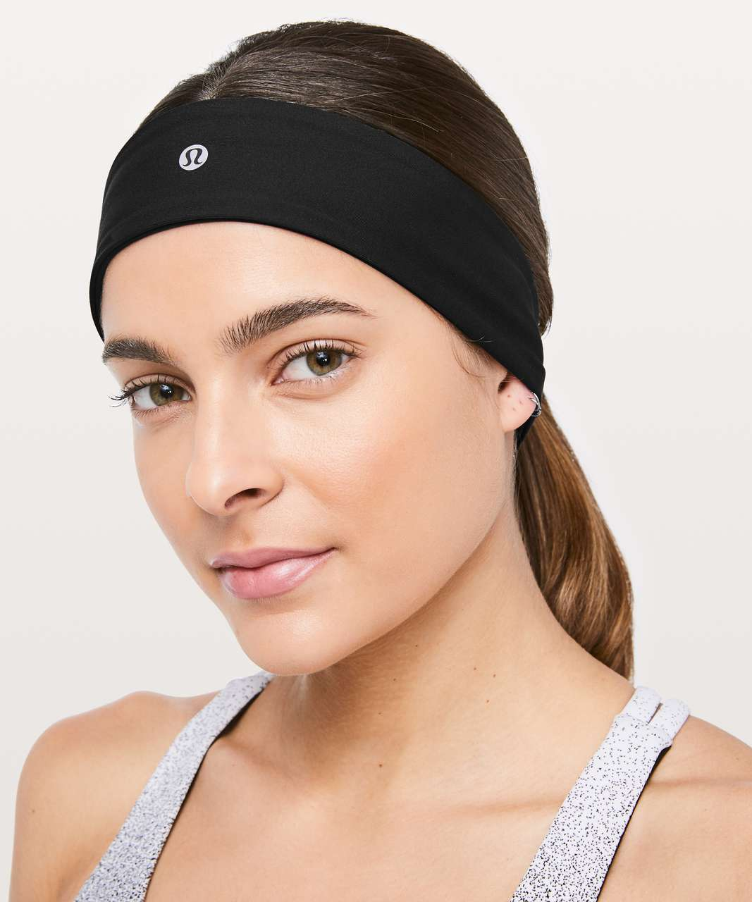 Lululemon Fly Away Tamer Headband II - Black