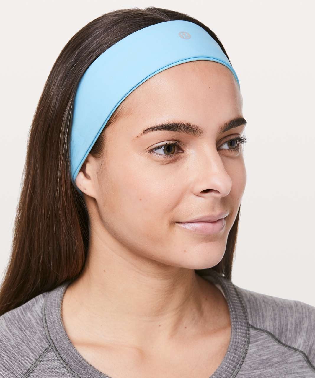 Lululemon Fly Away Tamer Headband II - Hydra Blue