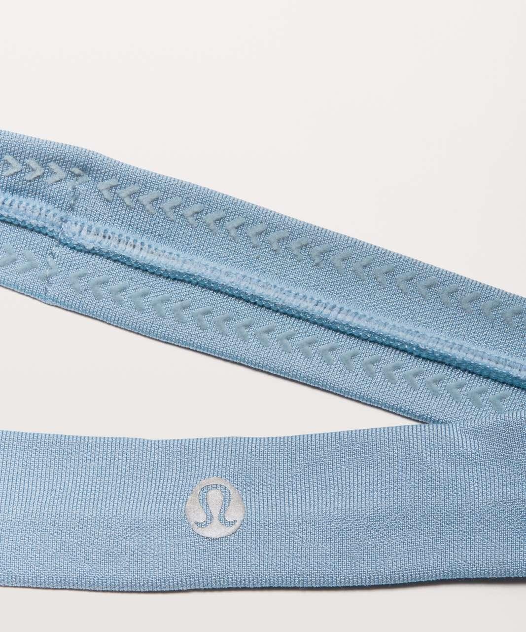 Lululemon Cardio Cross Trainer Headband - Cascade Blue / Cascade Blue