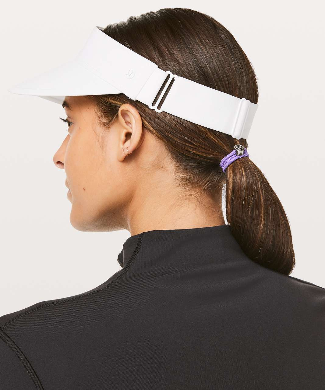 Lululemon Fast Paced Run Visor - White