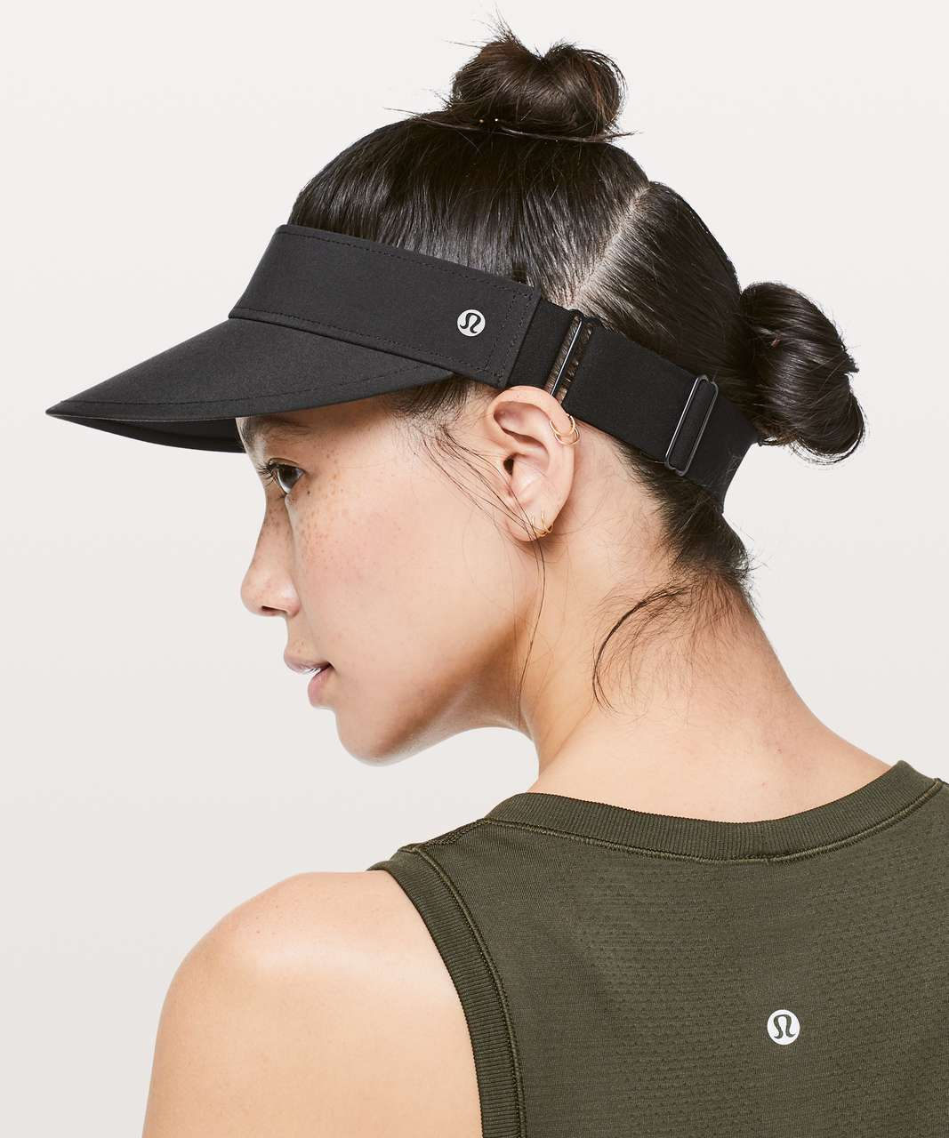 Lululemon Fast Paced Run Visor - Black
