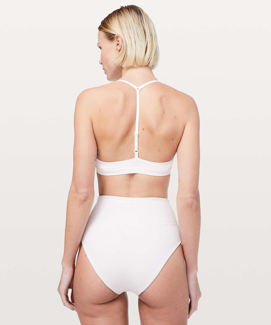 Lululemon Deep Sea Swim Top - White