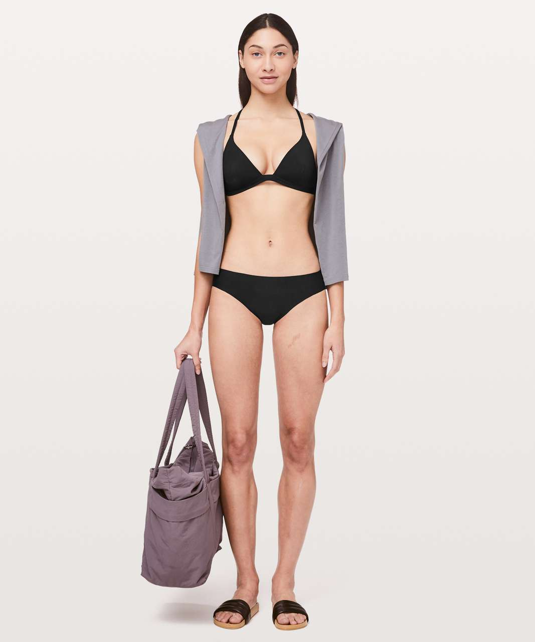 Lululemon Deep Sea Swim Top - Black