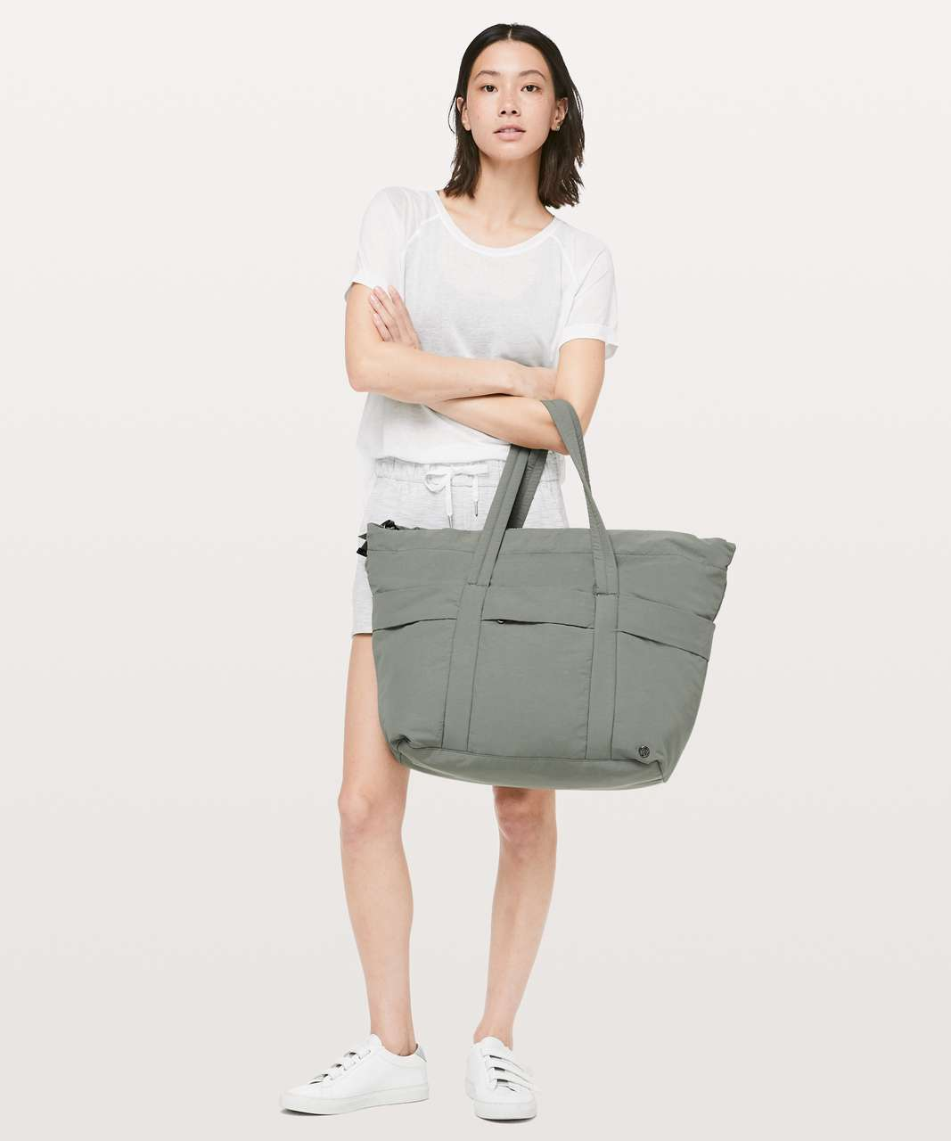 Lululemon On My Level Duffel *30L - Grey Sage