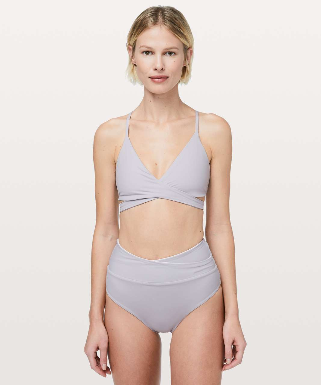Lululemon Tied To Tide Swim Top - Silver Lilac