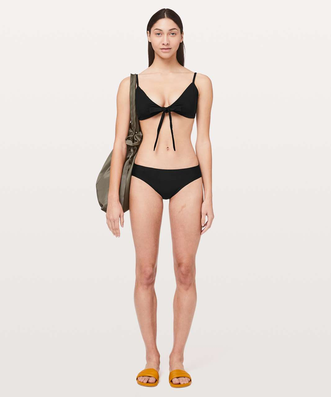 Lululemon Tied To Tide Swim Top - Black