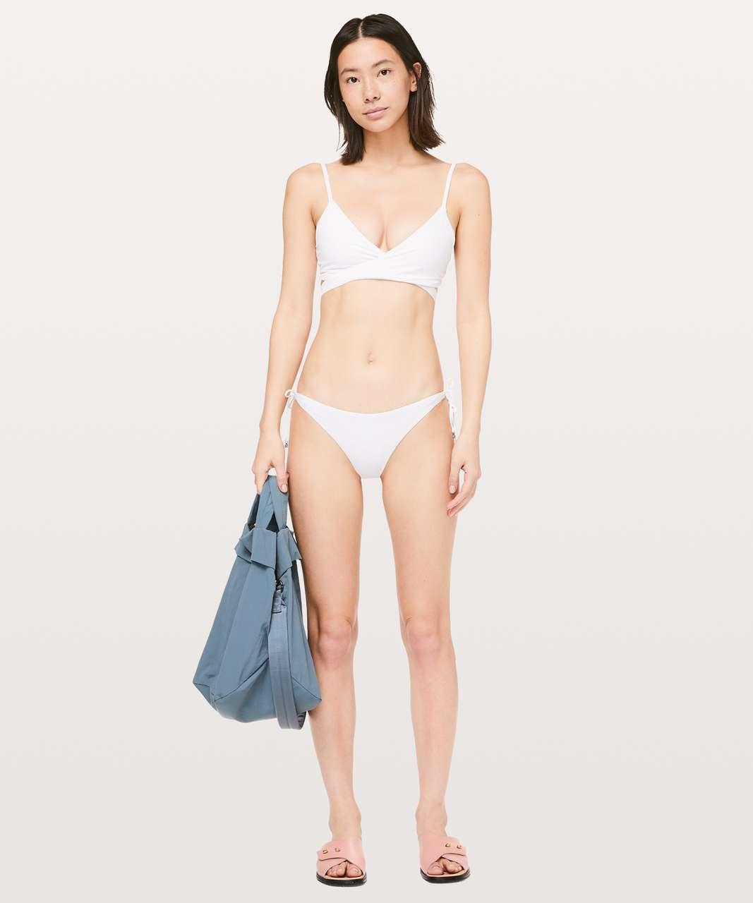 Lululemon Tied To Tide Swim Top - White