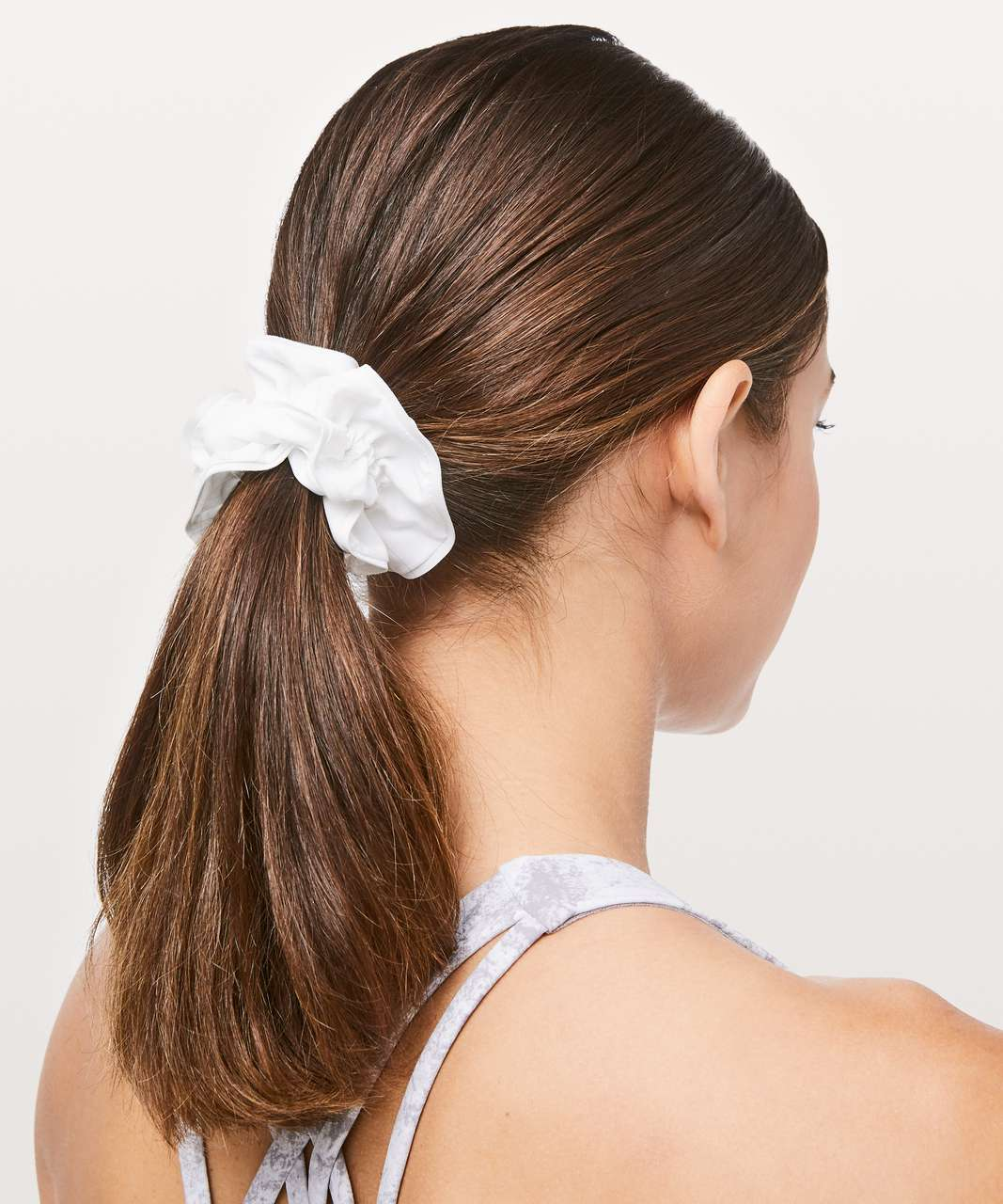 Lululemon Light Locks Scrunchie II - White (First Release)