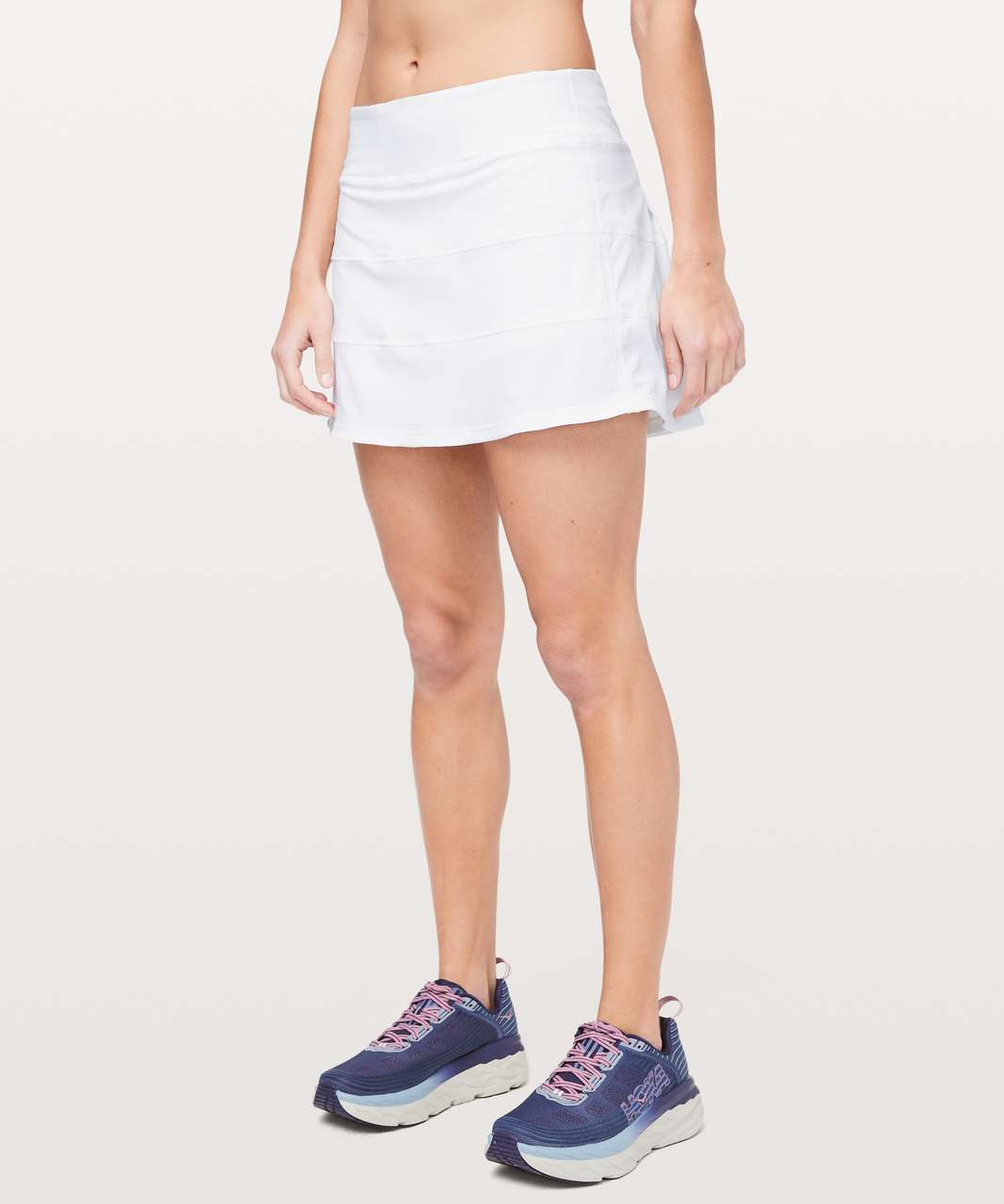 "Lululemon Pace Rival Skirt (Tall) *4-way Stretch 15"" - White"
