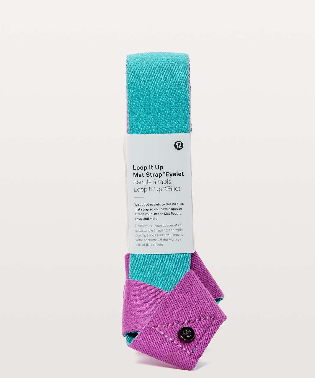 Lululemon Loop It Up Mat Strap *Eyelet - Hyacinth / Amazonite