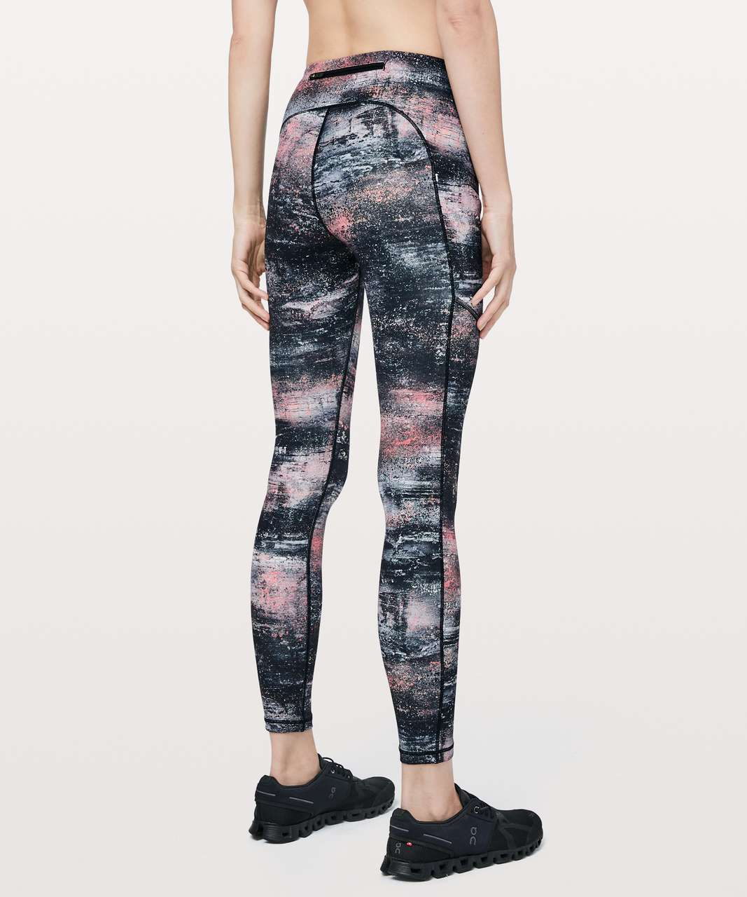 "Lululemon Speed Up Tight *28"" - Azurite Poppy Coral Multi"