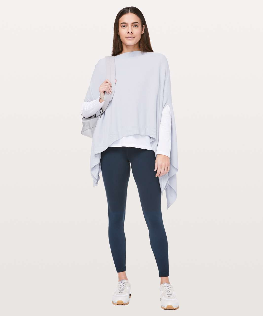 Lululemon Forward Flow Cape - Silver Fox / Alpine White