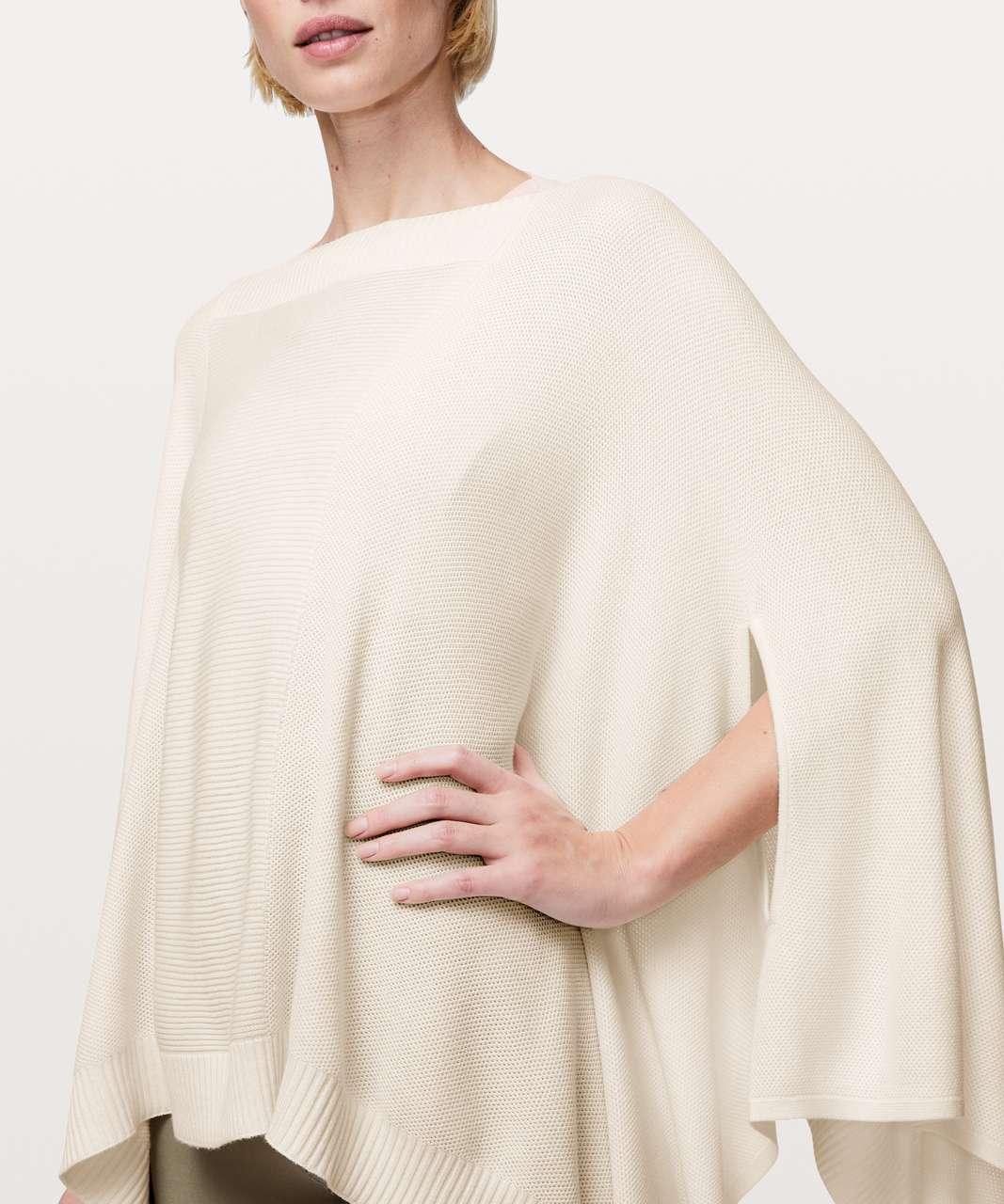 Lululemon Forward Flow Cape - Soft Ivory