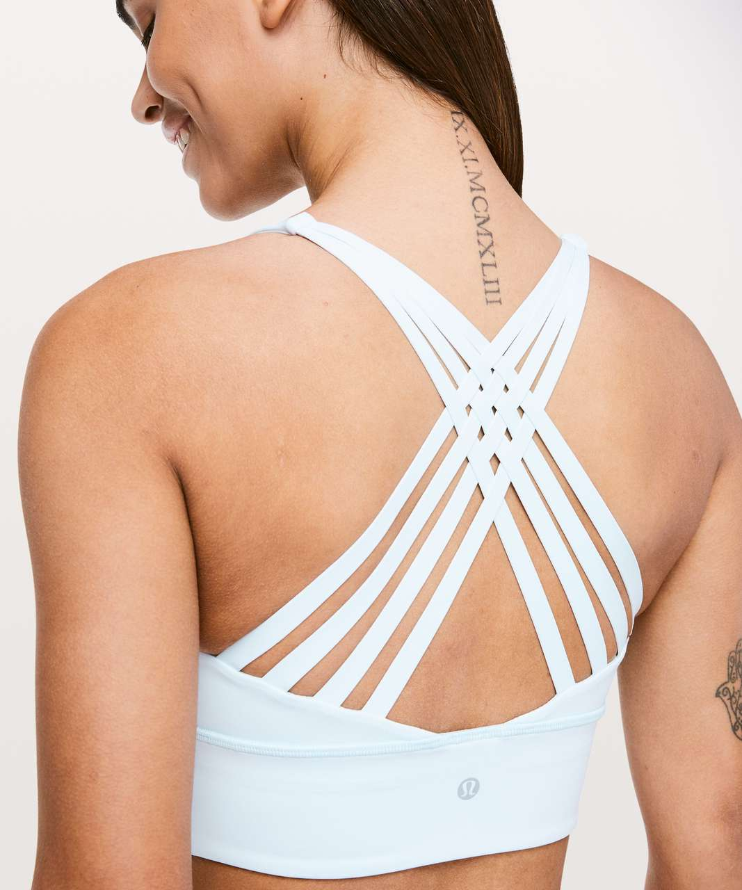 Lululemon Free To Be Moved Bra - Sheer Blue