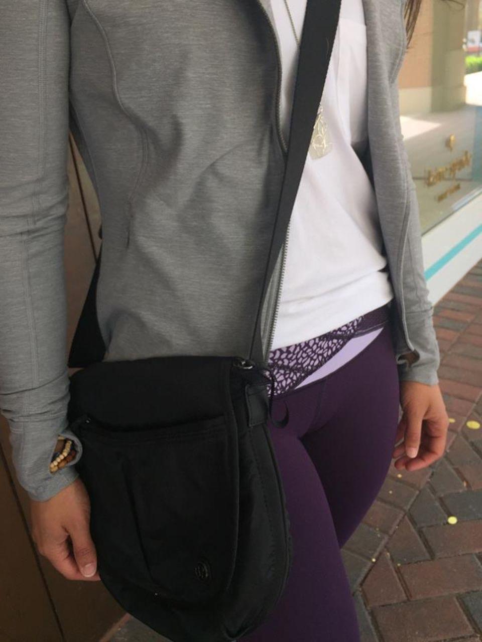 Lululemon Wunder Under Pant III - Deep Zinfandel / Lilac / Miss Mosaic Lilac Deep Zinfandel