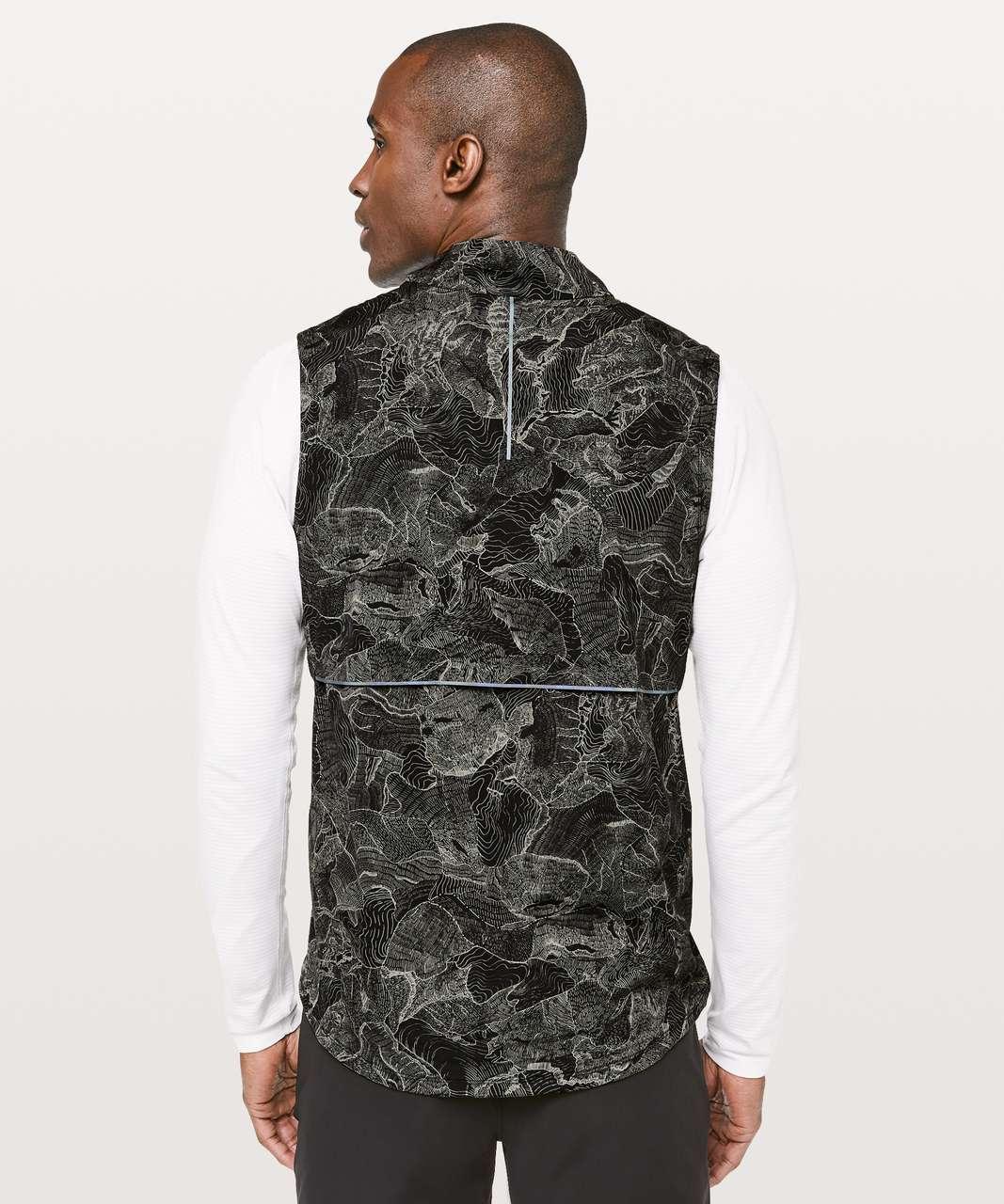 Lululemon Active Vest - Endeavour Grey Sage Black
