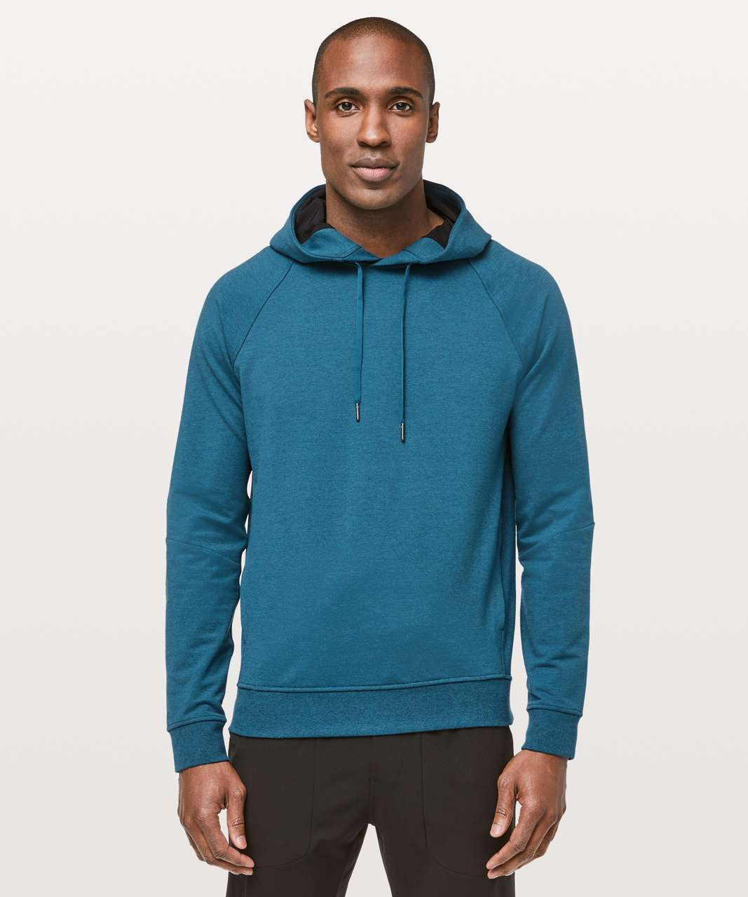 Lululemon City Sweat Pullover Hoodie - Heathered Poseidon